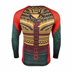 Art of Lua Rash Guard green3