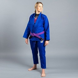 Standard Issue BJJ Gi Female Cut blue2