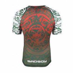 Warrior Society Rash Guard green3