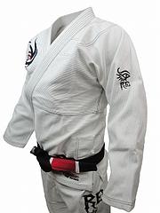 RE FIGHT 柔術衣 トライバル 白