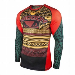 Art of Lua Rash Guard green1