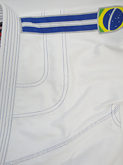 BULLTERRIER 柔術衣 ニューブラジル 白