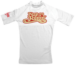 Keep On Rollin Kids Rash Guard 1