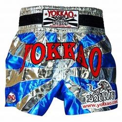 Saenchai Muay Thai Gym Sky Blue Shorts1