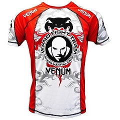 Dry Fit Tshirts  UFC147 white Red 1