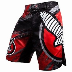Chikara 3 Fight Shorts red 1a