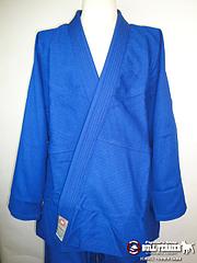 ATAMA 柔術衣 ウルトラライト シングル 青