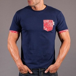 Scramble Irezumi Pocket Tee - Navy 1
