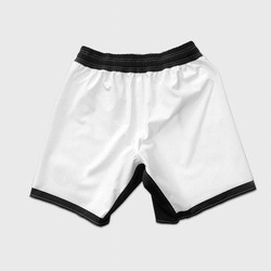 TRAINING SHORT SCRAP WHITE 2