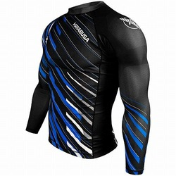 Metaru Charged Longsleeve Rash Guard blackblue 1