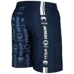 Logos Training Shorts navywhite4