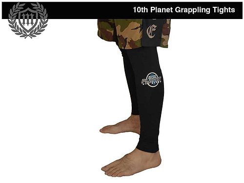 10th Planet グラップリングタイツ 黒