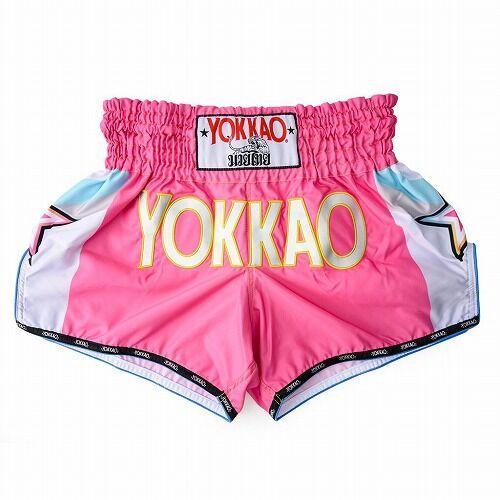 carbonfit-shorts-muay-thai-yokkao-havana-pink