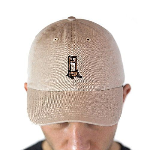 Guillotine Khaki Dad Hat 1