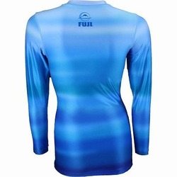 Haiku Women's Rashguard blue 2