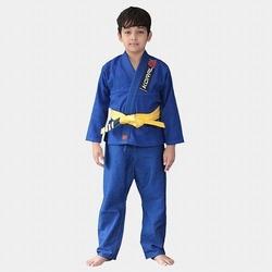 KIMONO KIDS TRANCADO blue 1