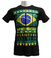 BAD BOY Tシャツ International 黒