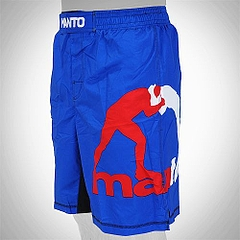 MANTO fightshorts PRO AMERICANA blue2
