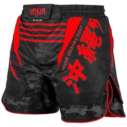 Okinawa 20 Fightshorts blackred1