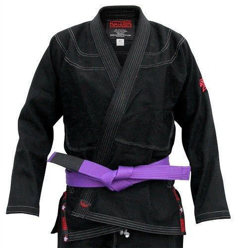 Adult BJJ Kimono - Black 3