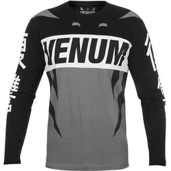 Revenge Long Sleeve T blackgrey 1