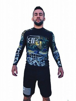 Limited Edition ROOTS BJJ Rash Guard 1