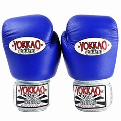 yokkao blue boxing gloves kids1