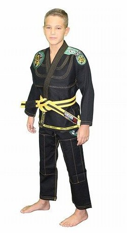 Built To Submit Deluxe Kids Black Gi 1