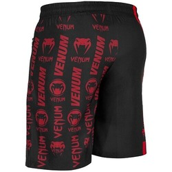 Logos Training Shorts blackred3