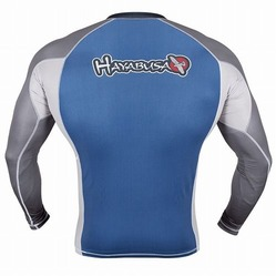 Showdown Rashguard Longsleeve Blue-gray 3a