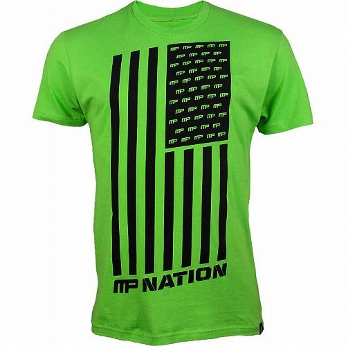Nation Shirt Green1