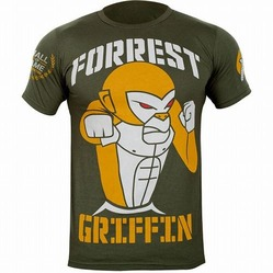 Tee Forrest Griffin Hall of Fame Green1