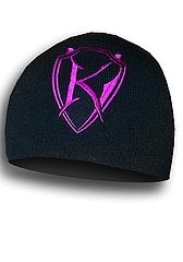 Beanie Purple Logo