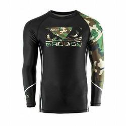 Soldier Rashguard black green 1
