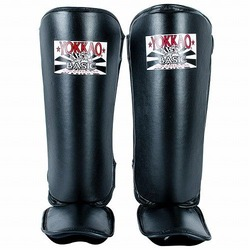 Black BASIC Shin Guards 1