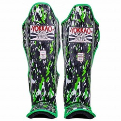 YOKKAO Apache Black Shin Guards 1