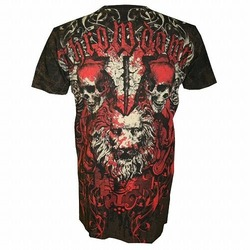 Throwdown King For War T-Shirt Brown2