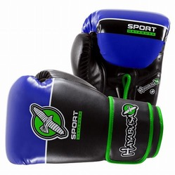 Hayabusa Sport 12oz Training Gloves black blue 1a