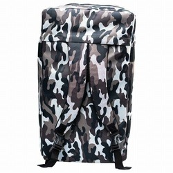 Convertible Grey Camo Gym Bag 3