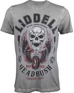 Headrush Liddell Collection Skull Racer Shirt2