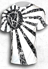 T-Shirt-Rising Sun White1