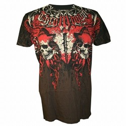 Throwdown King For War T-Shirt Brown1
