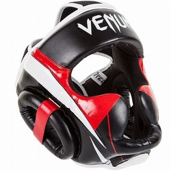 Headgear Elite Bk Red Grey1