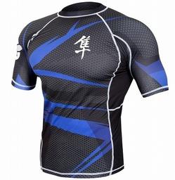 Rash Short Sleeve BK Blue2
