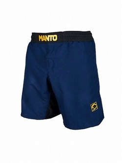 fight shorts EMBLEM navy 1