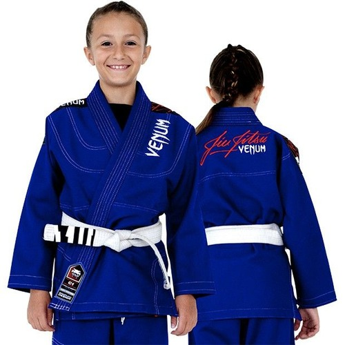 0 KIDS BJJ GI - ROYAL BLUE 1