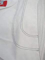 BULLTERRIER 柔術衣 スーパーマテリアル 白
