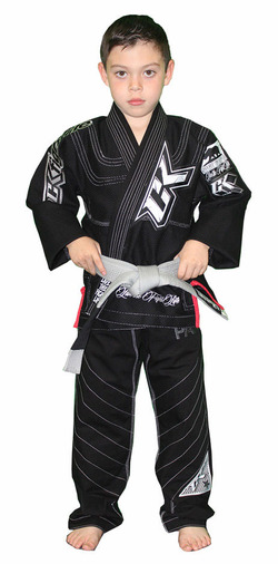 Competitor 2014 Kids Gi Black 1