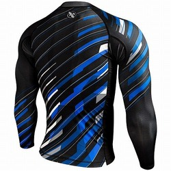 Metaru Charged Longsleeve Rash Guard blackblue 2