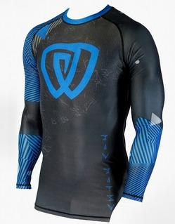 Rash Guard Chaos Ranked Blue 1